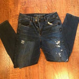 American Eagle super stretch high rise jeans
